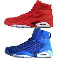 zapatillas de baloncesto de china al por mayor-Barato Alta Calidad 6 6s China Red hombres zapatos de baloncesto Chino Azul mens Sports Sneakers zapatillas zapatillas de diseño al aire libre Eur 40-47