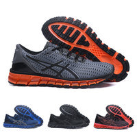 Wholesale cushioned running shoes online - Asics Original Gel Quantum Shift Cushioning Running Shoes Grey Red Men Top Quality Boots Athletic Sport Sneakers