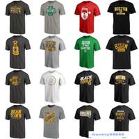 leere grüne t-shirts großhandel-Mens Boston Bruins Shift Tri-Blend Eishockey T-Shirt Schwarz Grau Rot Grün Navy Weiß Kein Name Keine Nummer Blank Trikots Großhandel Schnelles Verschiffen