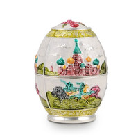 Wholesale Russian Eggs - Quality fashion toothpick holder stand home ktv supplies toothpick box egg shape automatic Russian style