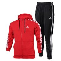 Wholesale mens suit high quality - Fashion Designer Tracksuit Spring Autumn Casual Unisex Brand Sportswear Track Suits High Quality Hoodies Mens Clothing