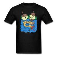 Wholesale Princess Tee Shirts - Princess Bubblegum Rock T shirt Adventure Time Men Cotton T-Shirt Printing Tee big Size S-XXXL