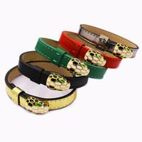 einzelnes goldarmband großhandel-Modemarke Schmuck Armreif einzigen Ring Schlange Armband Männer und Frauen Liebhaber Armband Zubehör kostenloser Versand