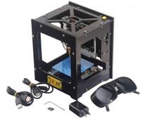 usb máquina de grabado láser al por mayor-Máquina de grabado láser NEJE DK-8 Pro-5 500mW USB Grabador láser Caja de corte Impresora de bricolaje