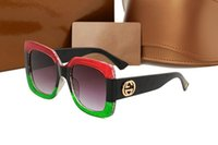 Wholesale Ladies Big Sunglasses - 2018 New italy brand bee sunglasses with logo women men fashion mix 3 colors big frame sun glasses lady driving shopping eyewear hot selling