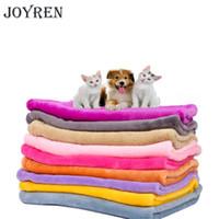 Wholesale golden towel - JOYREN 3 Size strong absorbing water bath pet towel lovely Cat dog towels Golden retriever teddy general on sale