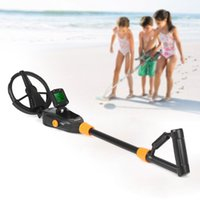 Wholesale metal detector for underground gold - Children Handheld Metal Detector underground Gold Detector Digger Treasure Hunter Tracker Seeker +Waterproof Search Coil for Kid