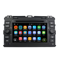 Wholesale Touch Screen Radio For Prado - 7inch Andriod 6.0 Car DVD player for Toyota PRADO 2006-2010 with GPS,Steering Wheel Control,Bluetooth,Radio