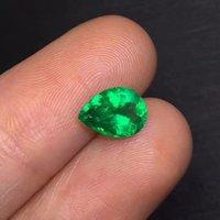 """Hermoso 2mm Natural Facetado Verde Esmeralda Piedras Preciosas redonda suelta granos 15.5/"""""""
