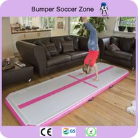 Wholesale discount inflatables for sale - Group buy x1x0 m Discount Home Gymnastics Equipment Inflatable Training Air Track Inflatable Gymnastics Air Mat