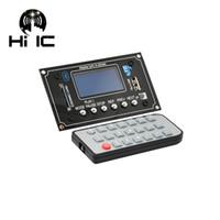 tablero de decodificación mp3 al por mayor-Pantalla Lyric Show Pantalla LCD Bluetooth MP3 Decoding Board Módulo Car Bluetooth Reproductor MP3 Lossless Decoder Board
