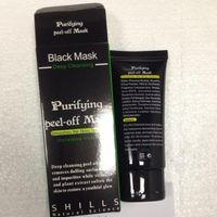 ingrosso blackhead maschera-Shills Peel-off face Masks Deep Cleansing Black MASK 50ML Blackhead Facial spedizione gratuita
