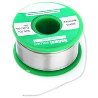 rollo de alambre led al por mayor-Freeshipping Alta calidad 0.8mm Led-free Flux Solder Carrete de alambre Sin plomo 0.7Cu Flu 2 por ciento Roll Flux Solder Wire Reel