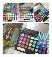 Wholesale hot brand eyeshadow online - Newest Hot Brand Makeup Palette Colors eye shadow TAKE ME BACK TO BRAZIL EyeShadow Palette Eye Cosmetics DHL shipping