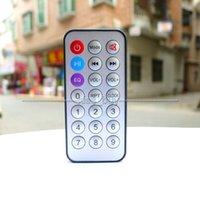 пульты дистанционного управления оптовых-Бесплатная доставка 15 шт./лот 21 ключи пульт дистанционного управления для 12 в 5 в цифровой MP3 WAV декодер доска