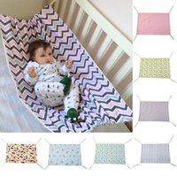 Wholesale folding baby crib portable - Safety Baby Swing Hammock Infant Bed Sleeping Bed Detachable Portable Folding Baby Bouncer Infant Crib for Newborn DDA472