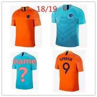 Wholesale holland football shirt - Nederland soccer jersey home away orange netherlands JERSEY ROBBEN SNEIJDER 18 19 thai quality HOLLAND JERSEY V.Persie Dutch football shirts