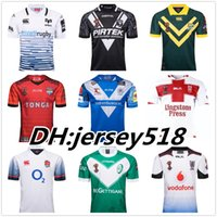 Wholesale australia army - 2017 World Cup NRL Jersey England rugby shirt 2017 2018 kiwi tonga rugby Jerseys SAMOA kiwis NRL National Rugby League Australia shirts