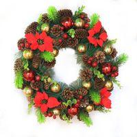 d17aef534a99a 9 unids Naturaleza Brown Piñones Adornos Colgantes Pequeños Piñones Bolas de  Navidad Árbol Colgando Gota Decoraciones de Navidad para el hogar