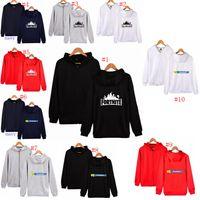 Wholesale fleece wholesaler - 10 Colors Fortnite Hoodies Thicken Fleece Zipper Battle Hooded Sweatshirts Hoodies Pullover Jackets Jumpers Hooded Coats MMA264 12PCS