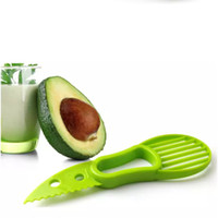 Wholesale cooking cutter - 3-in-1 Avocado Slicer Fruit Cutter Knife Corer Pulp Separator Shea Butter Knife Kitchen Helper Accessories Gadgets Cooking Tools