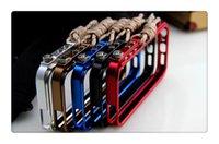 cnc alüminyum kılıf toptan satış-Yüksek kalite Cep Telefonu Kılıfları iphone 8X Için Alüminyum Metal Aracı-az CNC Tampon Tetik Tırmanma Ile Taktik Baskı Vaka Çerçeve Kapak