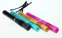 голубой лазер dhl оптовых-Лучшее качество далеко расстояние синий лазер 450 Нм синий лазерный указатель фонарик 10000 м Питание от 2x16340 батареи бесплатно DHL
