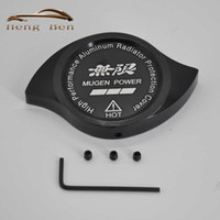 Wholesale Cap Radiator - HB MUGEN Radiator Cap Cover Fit For Accord Civic CR-V CR-Z CRX City Crossroad Elysion Jazz Prelude