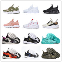 Huarache IV Run Ultra 4 Camo Army Green Running shoes for Top quality  Huaraches 4s Men Women Classic Sports Sneakers Size 36-46 eced37a2d