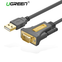 Wholesale usb serial port adapters - Ugreen USB to RS232 COM Port Serial PDA 9 DB9 Pin Cable Adapter Prolific pl2303 for Windows 7 8.1 XP Vista Mac OS USB RS232 COM