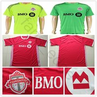 Wholesale toronto 19 - 2018 2019 Toronto FC Soccer Jersey 4 BRADLEY 10 GIOVINCO 17 ALTIDORE 21 OSORIO Home Red Away Customize 18 19 Football Shirt Uniform
