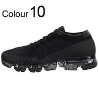 Wholesale mens outdoor socks - Hot Sale Vapormax Mens Running Shoes Barefoot Soft Sneakers Women Breathable Athletic Sport Shoe Corss Hiking Jogging Sock Shoe Free Run