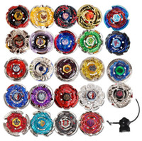 Wholesale beyblade birthday resale online - 24 Designs Clash Metal D Beyblades Beyblade Burst Spinning Tops Boys Kids Toys Beyblade Burst Party Favor CCA9918