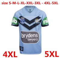 Wholesale Wales Rugby Shirt - NSW SOO 2018 JERSEY 20172018 NSW Blues New South Wales Blues rugby jerseys 2018 CAPTAINS HOLDEN shirts Extra large size S-4XL-5XL