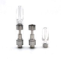 Wholesale Ceramic Clear - 510 Vape Cartridges Atomizer CCELL M6T05 Tank Cartomizer 0.5ml ceramic coil clear Acrylic mouthpiece tip M6 vaporizer M6T10