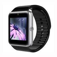 Wholesale Digital Camera For Vehicle - High Quality Bluetooth Smart Watch GT08 WristWatch Digital Sport Watches For Android Samsung Huawei Wearable Devices Smartwatch