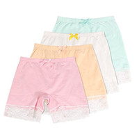 Wholesale underwear boxer briefs for girls for sale - Group buy Girls Lace Underwear Briefs Dance Bike Shorts Packs Safety Legging Panties For sports or under skirts