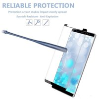Wholesale free phone cases for android online – custom For android Case Friendly d Curved Tempered Glass Case Version Phone Screen Protector Best Price DHL Free