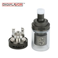 Wholesale electronics siren for sale - Digiflavor Siren GTA MTL Atomizer ml Designed for MTL vapers Electronic cigarette Atomizer Large Capacity