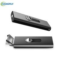 usb pen drive sprachaufzeichnungsgerät großhandel-16GB Metall Digital Voice Recorder Voice aktiviert USB Pen für PC Xiaomi Android Smartphone Laufwerk Recorder mit zwei Slots