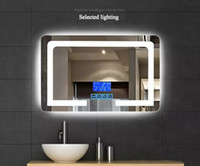 Wholesale high definition wall for sale - Group buy High definition Intelligent Wall Mounted Bathroom Mirror Frameless Defogging Bathroom Lights Led Mirrors Lamps W quot x H quot LLFA