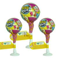 Wholesale nano balls - New Arrival Surprise Baseball Egg Gifts Plush Toy Lollipop Toy Pikmi Pops Surprise Ball Doll Plush Doll Kids Toy
