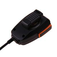 tyt mic al por mayor-Altavoz de mano de 2 pines Micrófono Micrófono para radios Baofeng Kenwood TYT para Walkie Talkie UV-5R UV-5RE BF-UVB2 Plus BF-888S GT-UV2