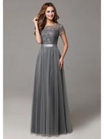 Vestidos de fiestas gris