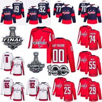 Wholesale capital names - Customized Any Name Number 2018 Stanley Cup Champions Washington Capitals Ovechkin 65 Andre Burakovsky 74 John Carlson 25 Smith-Pelly Jersey