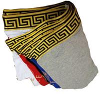 Wholesale Hot Underpants - Hot Fashion Men Underwear Boxers Soft Cotton M-XXL Breathable Letter Underpants Shorts brand Design Tight Waistban 23