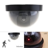 Wholesale Housing Shop - Light-operated Emulational Fake Decoy Dummy CCTV Camera with Induction Red Blinking LED for House   Office   Shop Security CCT_70B