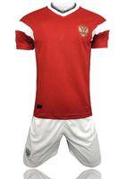 camisetas de rugby personalizados al por mayor-Venta al por mayor de 2018 rusia home jersey kit copa del mundo rusa uniformes de ropa de calidad superior jersey kit nombre personalizado DZAGOEV Rugby Jerseys