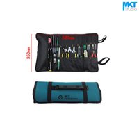 Wholesale Electrical Storage - 1Pcs Drum type Blue 58x35cm Oxford Cloth Durable Waterproof Tools Container Storage Waist Bag With Belt,Electrical Tools Bag