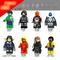 Wholesale toy soldiers buildings - PG8117 Superheroes building blocks 2018 New children Avengers Hulk Winter Soldier Movable Action Figure Minifig Toys B